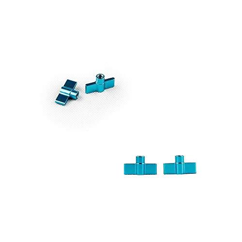 Blaue Ersatzschrauben für Magilight-Ausrüstung, LED-Licht-Malstab, Dauerfotografie, Beleuchtung, Ersatz, extra Anziehanpassung