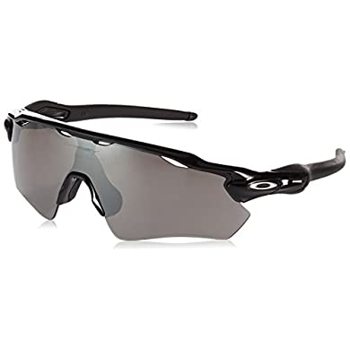 67cb450550 Oakley Men s Radar Ev Path Non-Polarized Iridium Rectangular Sunglasses  Polished black 38.02 mmOakley Men s Radar Ev Path Non-Polarized Iridium  Rectangular ...