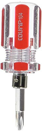 6 mm magnétique pointe 100 mm Arbre Cross Tête Tournevis Cruciforme rouge clair