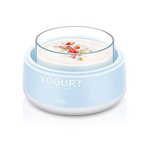 XZJJZ Macchina for Lo Yogurt , Contenitore e Coperchio di stoccaggio Opzioni zuccherate, aromatizzate, semplici o Senza Zucchero for Neonati, Bambini e Parfait