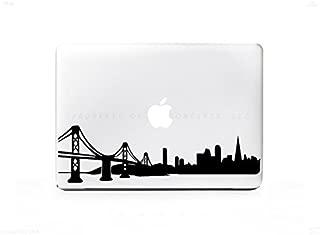 Univers3 San Francisco Skyline Golden Gate Bridge VINYL DECAL STICKER FOR MACBOOK / NOTEBOOK / LAPTOP