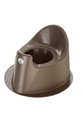 Rotho Babydesign TOP Petit Pot à Base Stable, À partir de 18 mois, TOP, Taupe Pearl (Marron), 200030207
