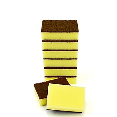 Amazon - 50% Off on Kitchen Sponges for Dishes, Non-Scratch Kitchen Sponge, Scrub Pads Sponges