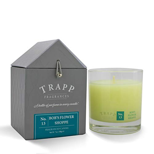 Trapp Signature Home Collection No. 13 Bob's Flower Shoppe Poured Scented Candle, 7 Ounce