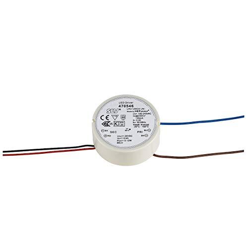 SLV LED Netzteil Doseneinbau 12 W, 24 V 470546