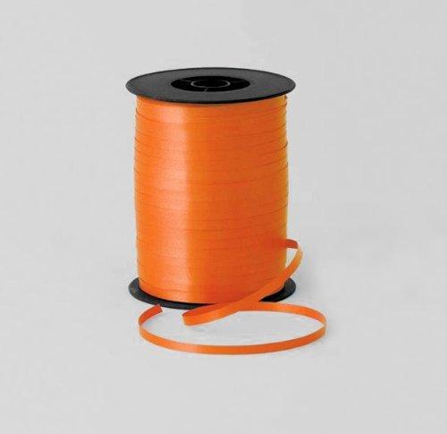 Curling Ribbon & Satin Tying Ribbon - 1212017 Ruban de fermeture 4,75 mm x 500 m, couleur orange,