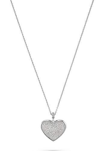 JETTE Silver Damen-Kette 925er Silber 152 Zirkonia One Size 88004728