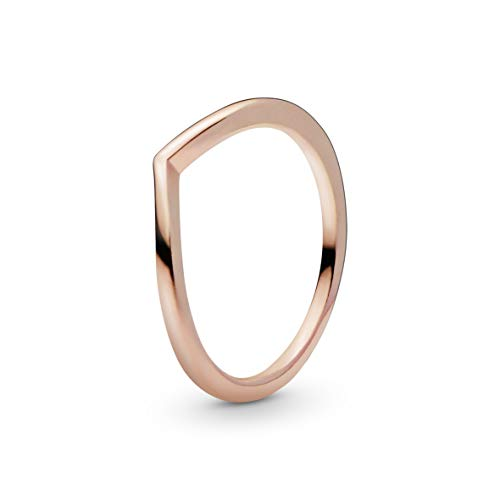 Pandora Damen Shining Wish Ring, Rosegold,  Ringgröße 54 (17.2) 186314-54