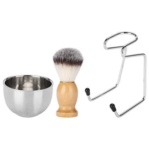 Support de rasoir de brosse de rasage en acier inoxydable, rasoir et support de brosse, rasoir de sécurité et support de brosse de rasage, trousse de toilette pour hommes