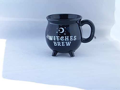 Tasse mit Hexenkessel für Tee, Kaffee, Suppe, 10 cm, in Geschenkbox