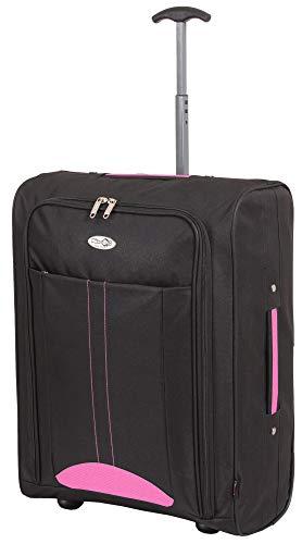 CABIN 5630 trolley economy - Trolley morbido 2 ruote idoneo Ryanair Easyjet 55x40x20 cm ultra leggero utilizzabile come bagaglio a mano di dimensioni standard