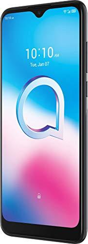 Alcatel 3L 2020 5029D Smartphone (15,8 cm (6,22 Zoll) HD+ Vast Display, 48+5+2 MP Kamera, Dual-SIM, 64 GB Speicher, 4 GB RAM, Android 10), Dark Chrome