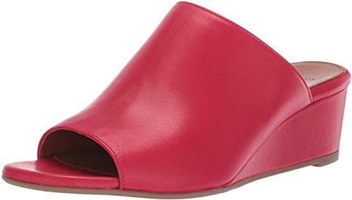 Aquatalia Women's Kayla Nappa Mule, Red, 10 M US