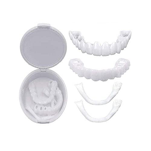 Prensas dentales dentales dentales inferiores de la parte inferior/superior de los dientes falsos