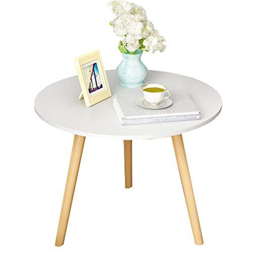 ZRRtables Table de Salon Nordique Petite Table de Salon Moderne Simple canapé Table de Chevet côté Petit Appartement Table Ronde Balcon
