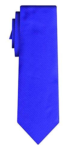 Cravate unie solid royal blue VII