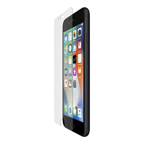 Belkin ScreenForce InvisiGlass Ultra Corning Glass Ion-Exchange Strengthened Screen Protector for iPhone 8 Plus, iPhone 7 Plus- Transparent