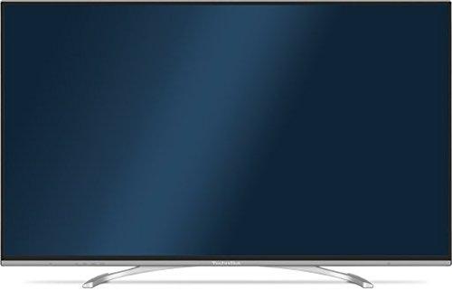 TechniSat 8107055 TechniPlus ISIO 140 cm (55 Zoll) Fernseher (Full HD, Twin-Tuner für DVB-S2/C/T, Smart TV, 3D, Energieklasse A+) weiß