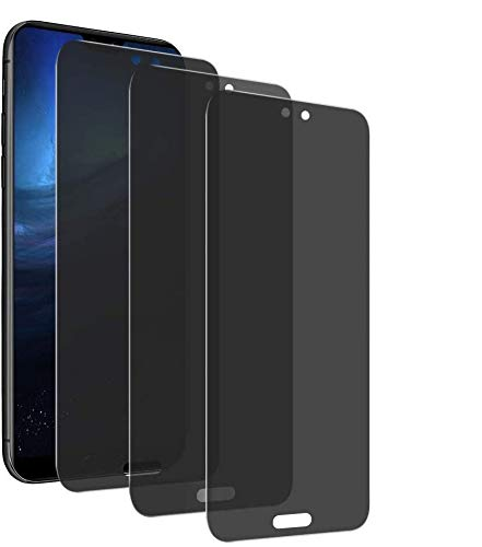 Mosoris [3 Packs] Privacy Pellicola Vetro Temperato per Huawei P30 Lite, Anti-Spy in Vetro Temperato 9H Anti Graffio Pellicola Protettiva Schermo in Vetro Temperato Anti-Spia per Huawei P30 Lite