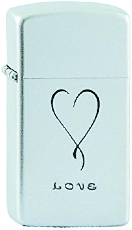 Zippo 1605 60001337 Love Slim Benzinfeuerzeug, Messing, Messing, Messing, Satin Chrom, 1 x 3,5 x 5,5 cm B00JLL5694 df5dd1