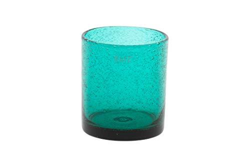 Dutz Votivlicht Bubbles | H 10 D 9 cm | Teal
