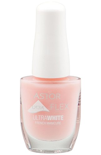 Astor Lycra Flex Ultra White French Manicure Nagellack 981 Ultra White 8ml (A24)