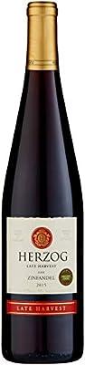 Herzog Wine Late Harvest Zinfandel 75 cl Kosher (Case of 3)