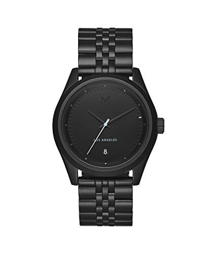 MVMT Women's Quartz Watch with Stainless Steel Strap, Black, 20 (Model: D-TC01-BB)