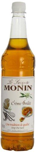 Monin Premium Cream Brulee Syrup 1 L