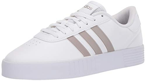 adidas mens Training Cross Trainer, White/Platino/White, 5 US