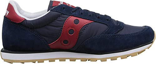 Saucony Originals Men's Jazz Low Pro Sneaker,Navy/Red,14 M US