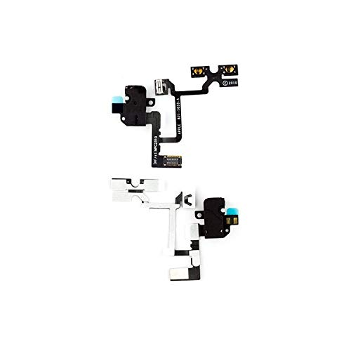 Flex Cable Reparación Piezas de Repuesto Compatible con iPhone 4 (botón de...