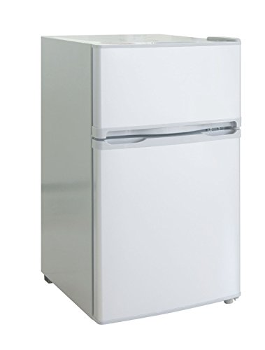 RCA-Igloo 3.2 Cubic Foot 2 Door Fridge and Freezer, White
