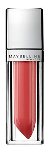 Maybelline New York Make-Up Lipgloss Color Sensational Elixir Alluring Coral / Kräftiges Hellrot...