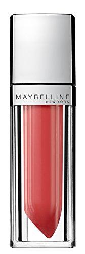 Maybelline New York Make-Up Lipgloss Color Sensational Elixir Alluring Coral / Kräftiges Hellrot für farbintensive und gepflegte Lippen, 1 x 5 ml