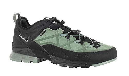 AKU Rock DFS GTX - Botas de senderismo impermeables con Goretex para hombre, color Verde, talla 44.5 EU