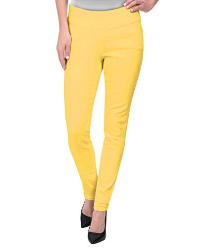 Super Comfy Stretch Pull On Millenium Pants KP44972 Yellow XL