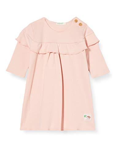 United Colors of Benetton Vestito Vestido, Piel De Durazno 04u, 50 para Bebés
