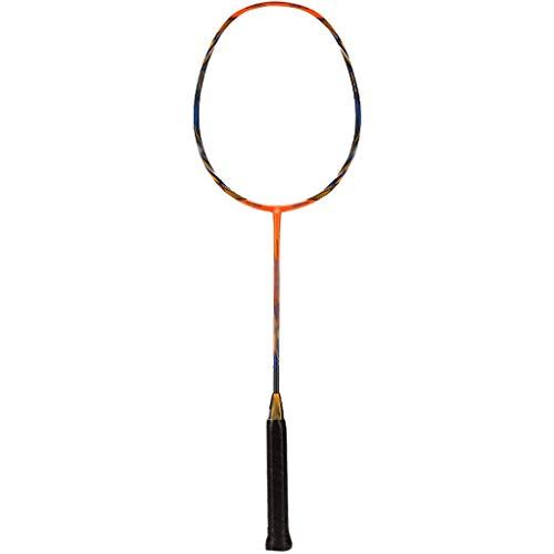 DXIUMZHP Raquetas Raqueta De Bádminton Ligera con Bolsa, Principiantes Entrenando Raquetas Recreativas, Necesita Comprar Cuerda De Raqueta por Separado (Color : Orange, Size : 67.5cm/3U)