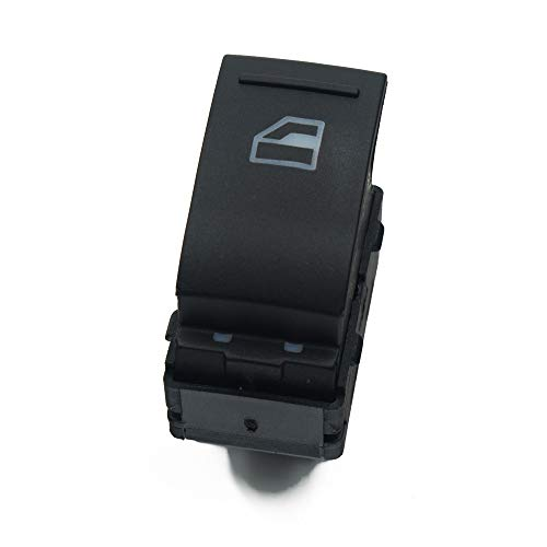 SUJIE Interruptor de la Ventana Compatible con Volkswagen VW Transporter T5 T6 2005-2014 7E0 959 855A 7E0959855 Botón del Interruptor de Control de la Ventana del Pasajero eléctrico Reemplazo