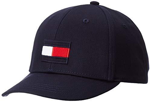 Tommy Hilfiger Big Flag Cap Gorra de béisbol, Azul (Desert Sky Dw5), Small Unisex Adulto