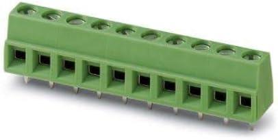Phoenix Contact Fixed Terminal Blocks Import 6P 5mm 20 Pack 90DEG Sales of