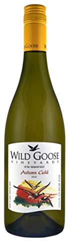 Wild Goose 2016 Autumn Gold Weißwein - Blend Pinot Blanc, Riesling, Gewürztraminer - Kanadischer Wein - Okanagan Valley, Kanada BC VQA (1x0,75 l)