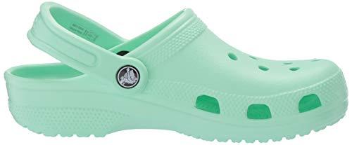 Crocs Classic Clog Unisex Adulta Zuecos, Verde (Neo Mint), 42/43 EU