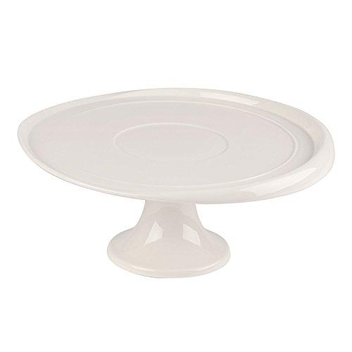 Villeroy & Boch Clever Baking Kuchenplatte, Premium Porzellan, Weiß, 32 x 32 x 7 cm