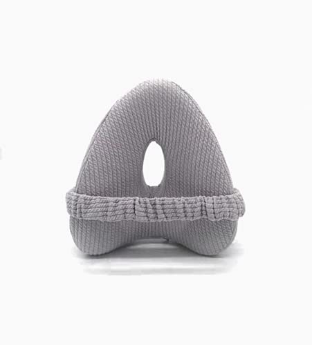 Almohada Ortopédica para Piernas y Rodilla+2 Fundas extraíbles+Set Descanso. Cojin Espuma con Memoria Alivia el Dolor de Espalda Cadera y Articulaciones Almohada para Dormir de Lado Cojin Embarazada.