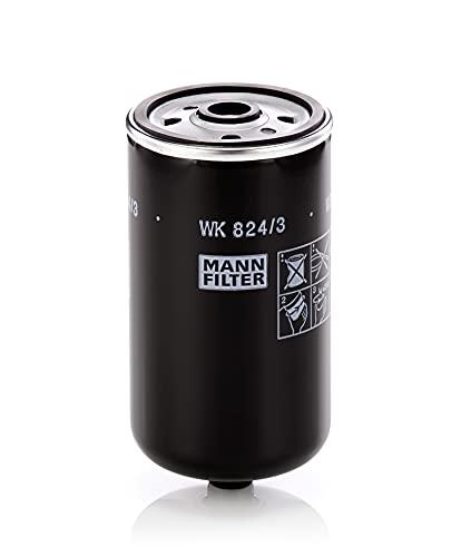 Original MANN-FILTER Filtro de Combustible WK 824/3 – Para automóviles