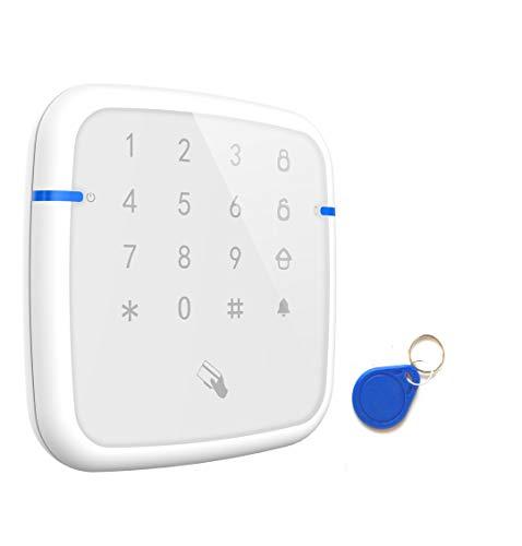 LGtron PH-868KP Funk KeyPad und Statusanzeige mit RFID-Chip Batteirebetrieb 2 Wege Kommunikation (bidirectional) für LGD8006 WLAN WiFi GSM Funk Alarmanlage, 868 MHz