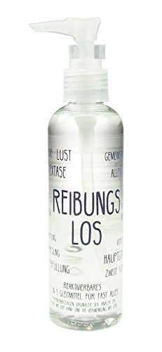 Reibungslos - reaktivierbares 5-in-1 Premium-Gleitmittel mit Langzeitwirkung, Wasserbasis, 1x 200ml