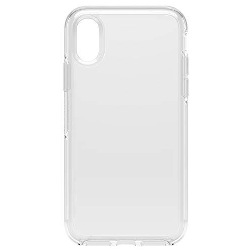 OtterBox Symmetry clear hoch-transparente + sturzsichere Schutzhülle für iPhone X/Xs, transparent
